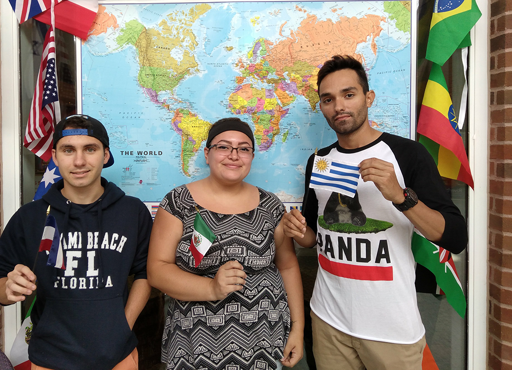 International Students at Riverland